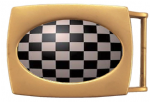 Chess Board Belt Buckle